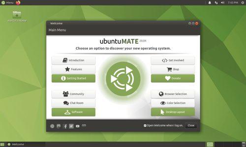 Ubuntu MATE terbaik